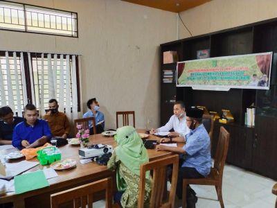 Disbun Inhil Laksanakan Pertemuan Pembekalan dan Evaluasi Pengamat OPT Se - Kabupaten Inhil