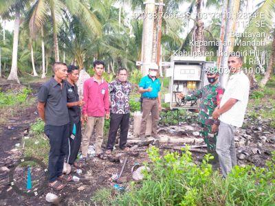 PLN ULP Tembilahan Operasikan Travo di Desa Bantaian